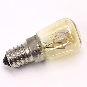 glow bombilla Alta Temperatura 15W / 25W / 300 Grado Ses E14 Horno ...