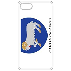 Faroe Islands Coat Of Arms Flag Emblem White Apple Iphone 4 - Iphone 4s Cell Phone Case - Cover