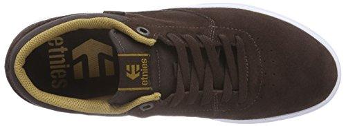 Etnies RAP CL - zapatilla deportiva de cuero hombre marrón - Braun (Brown/Gum)