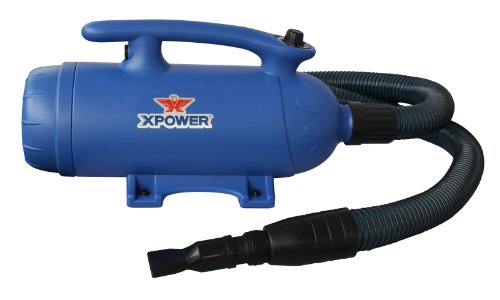 Xpower b 3 2 hp 2 speed 2 in 1 pet dryer and vacuum for Dryer motor replacement cost