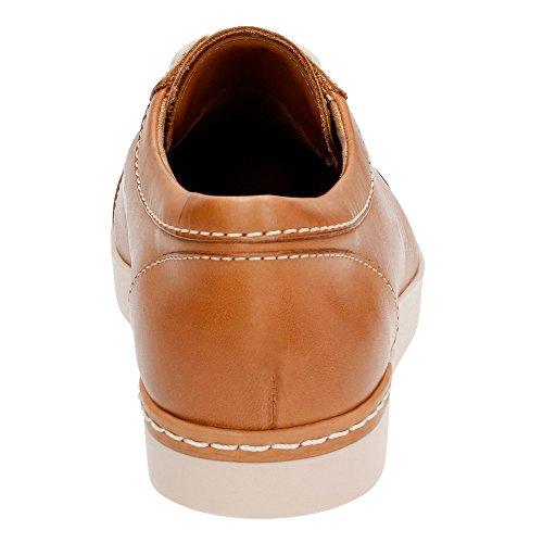 Clarks Cordella Chant zapatilla de deporte Beige Leather