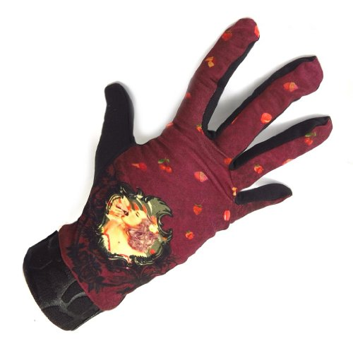 [リリーの宝 (Les Tresors De Lily)] (Caprice コレクション) [K5779] 手袋 レッド