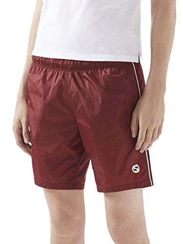 Gucci Red Technical Nylon Swim Shorts Trunks Size 46/30