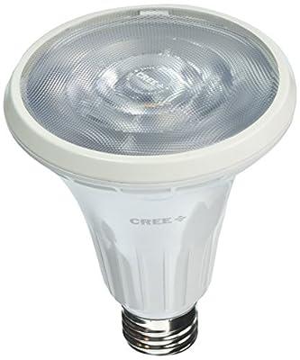 Cree BPAR30L-0853025C-12DE26-1C100 75W Equivalent Bright White 3000K PAR30 Long Neck 25 Degree Spot Dimmable LED Light Bulb