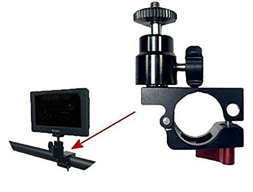 Vitopal Clamp Holder Mount for Feelword,Aputure monitor Mounted for DJI Ronin-M Gimbal Stabilizer