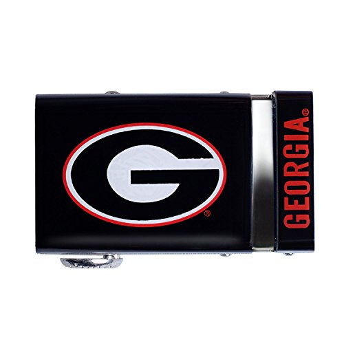 Georgia Bulldogs Buckle - Mission Belt Georgia Bulldogs 40mm Buckle