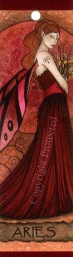 Jessica Galbreth Zodiac Sign Bookmark Fairy Faery Aries