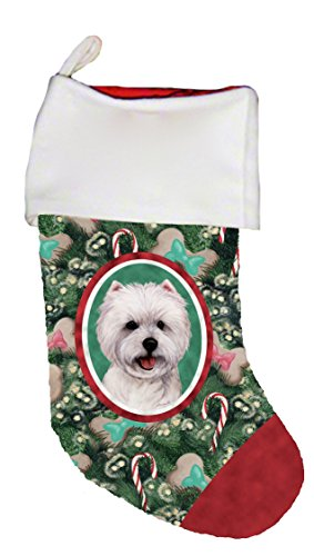 - Best of Breed Westie Dog Breed Christmas Stocking