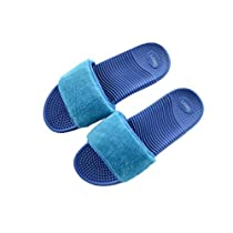 Lejinma Womens Massage Sandals/Slippers Anti-Slip Indoor & Outdoor