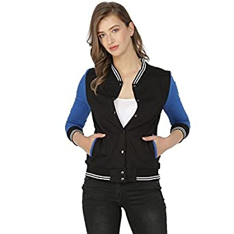 Campus Sutra Full Sleeve Solid Women Jacket Jackets