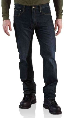 Carhartt Pants Indigo Fit Straight Weathered Jeans 7Ur7vPq
