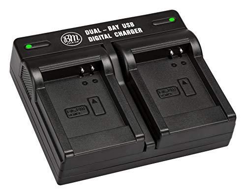 BM DMW-BCM13, DMW-BCM13E, DMW-BCM13PP Dual Battery Charger for Panasonic Lumix DMC-FT5A, DMC-LZ40, DMC-TS5, TS6, TZ37, TZ40, TZ41, TZ55, TZ60, ZS27, DMC-ZS30, DMC-ZS35, DMC-ZS40, DMC-ZS45, DMC-ZS50