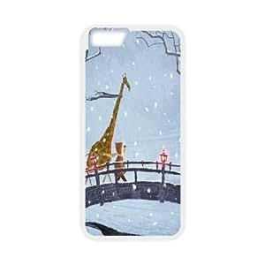 Animal Giraffe Hard Plastic Back Case Cover for For iphone 6 4.7 Case FKGZ427709