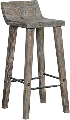 Lana45 The Gray Barn Gold Creek Natural Wood Counter Stool Rustic Charm Kitchen Home Bar