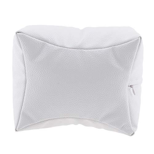 喪かもめ敵意ネイルアート 手枕 ハンドピロー レストピロー ハンドクッション ネイルサロン 4色選べ - 白