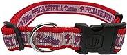 MLB Dog Collar. - 29 Baseball Teams Available in 4 Sizes. Heavy-Duty, Strong & Durable Pet Collar. - MLB L
