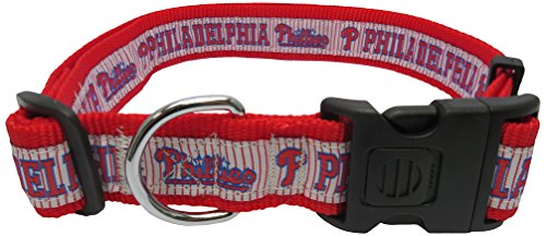- MLB PHILADELPHIA PHILLIES Dog Collar, X-Large