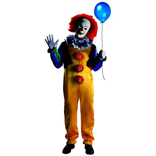 Rubie's Men's It The Movie Pennywise Adult Deluxe Costume, As Shown, Extra-Small