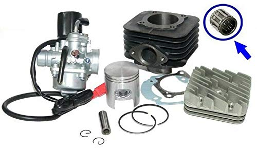 70cc Modifica Cilindro CARBURATORE Kit Testa per Piaggio Free Liberty 50 Unbranded