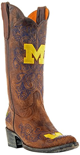 - GAMEDAY BOOTS NCAA Michigan Wolverines Women's 13-Inch, Brass, 10 B (M) US