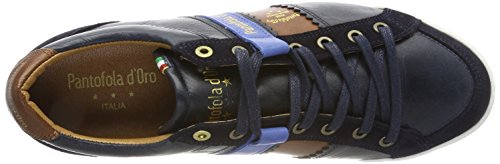 Baskets Blues Homme Low Savio Pantofola Dress Bleu Uomo d'Oro Romagna qnpX1wzT