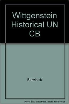 Como Descargar Libros Wittgenstein Historical Un Cb Epub En Kindle