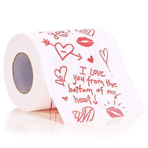 Juvale Valentines Day Toilet Paper