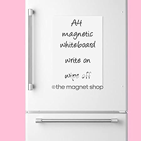A Dry Wipe Magnetic Whiteboard Flexible Notice Memo Board  Kitchen