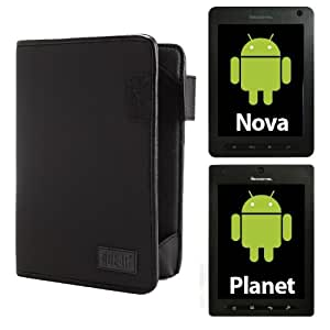 USA Gear Protective Tablet Folio Carrying Case for Pandigital PLANET R70A200 and NOVA R70F400 Android Tablets