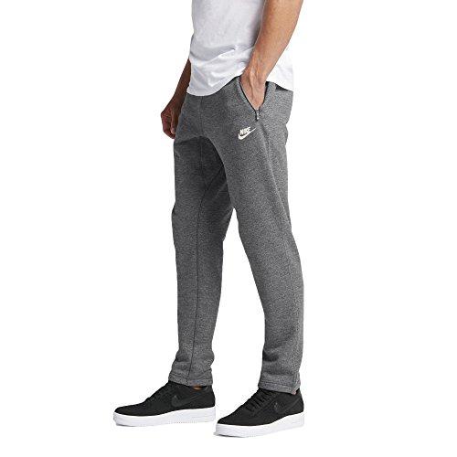 Nike Sportswear Legacy Men's Joggers Pants (Large, Charcoal Heather/Black Heather/Sail)