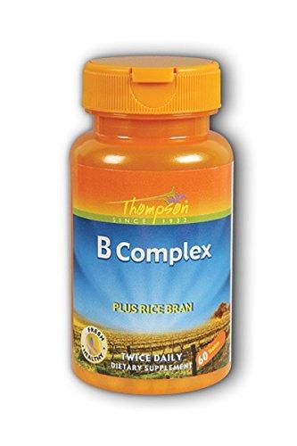 B Complex w/Rice Bran Oil Thompson 60 Tabs