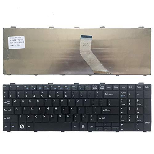 New English Laptop Replacement Keyboard for Fujitsu Lifebook A530 AH530 AH531 NH751 US Layout ()
