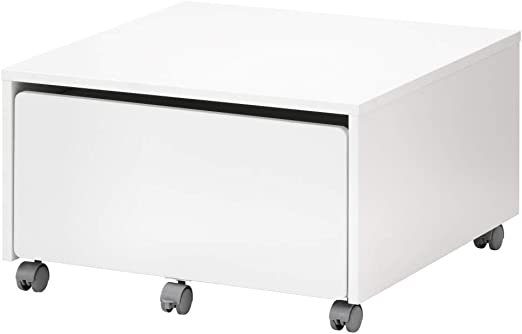 IKEA ASIA SLAKT - Caja de Almacenamiento con Ruedas: Amazon.es: Hogar