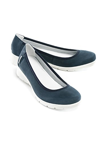 Soft Ballerina Avena Ladies Cloud - Morbidissima Imbottita Blu Navy