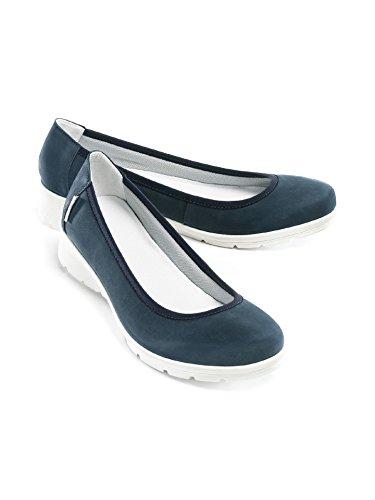 Avena Damen Wolkenweich-Ballerina Blau