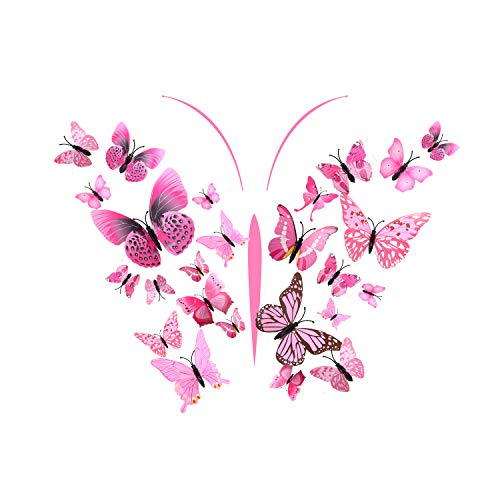 AgeXinjo Butterfly Stickers Decorations Classroom