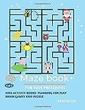 maze book for kids preschool, kids activity books