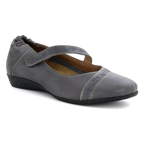 Taos Donna Grace Mary Jane Flat Grey