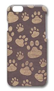 iPhone 6 Case,VUTTOO iPhone 6 Cover With Photo: Patterns Paws For Apple iPhone 6 4.7Inch - PC Hard Case