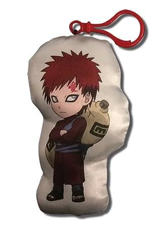 Gran entretenimiento oriental Naruto Shippuden Gaara - peluche llavero: Amazon.es: Juguetes y juegos