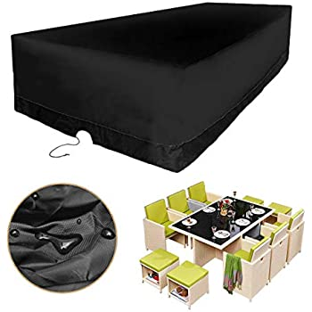 Amazon Com Kingso Patio Furniture Covers Durable And