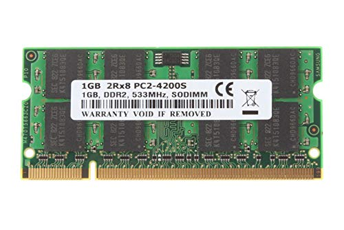 FidgetGear 1GB 1 GB Kits SDRAM PC2-4200S DDR2-533 533Mhz 200pin CL4 Laptop Memory RAM @7H