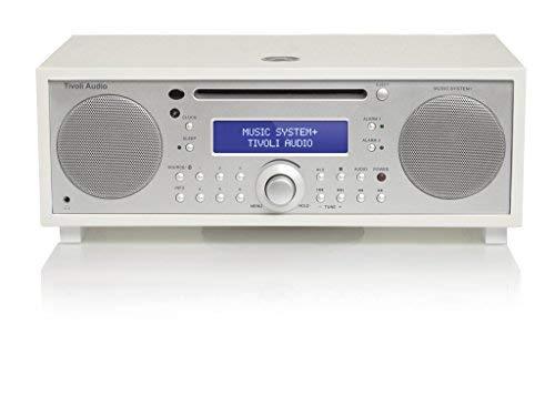 Tivoli Audio Music System + in Wit/Zilver