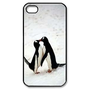 [Tony-Wilson Phone Case] For Iphone 4 4S-IKAI0448196-Penguins Pattern