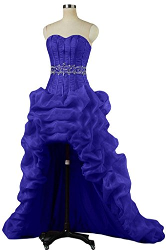Hi Angel Dress Sweetheart Quinceanera Ruffles Lo 2016 Royal Dress Prom New Bride Blue xAqAUI