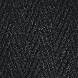 Chevron Entrance 3/8 Inch Thickness Charcoal 3' x 20' Entry Mats