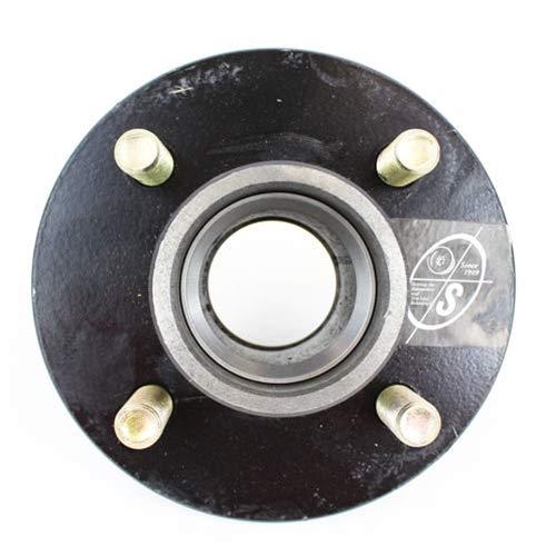 Axles Southwest Wheel 4-hole BT8 Spindle 4 Bolt Circle Idler Hub for 2,000 lb