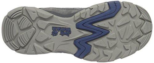 Jack Wolfskin Mtn Attack 5 M, Zapatos de Low Rise Senderismo para Hombre Gris (Ocean Wave)