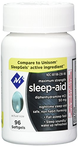 maximum strength nighttime sleep aid