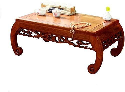 Mesa portátil pequeño café mesas de café retro Mobiliario de sala ...